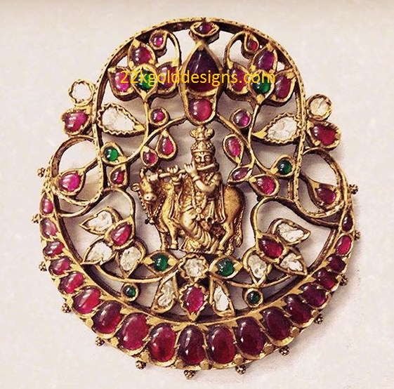 Traditional Krishna Pendant