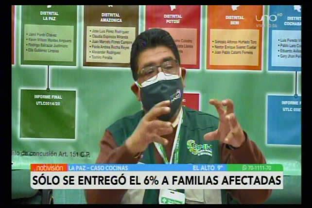 ANH involucra a candidato Luis Arce en presuntas irregularidades en caso cocinas