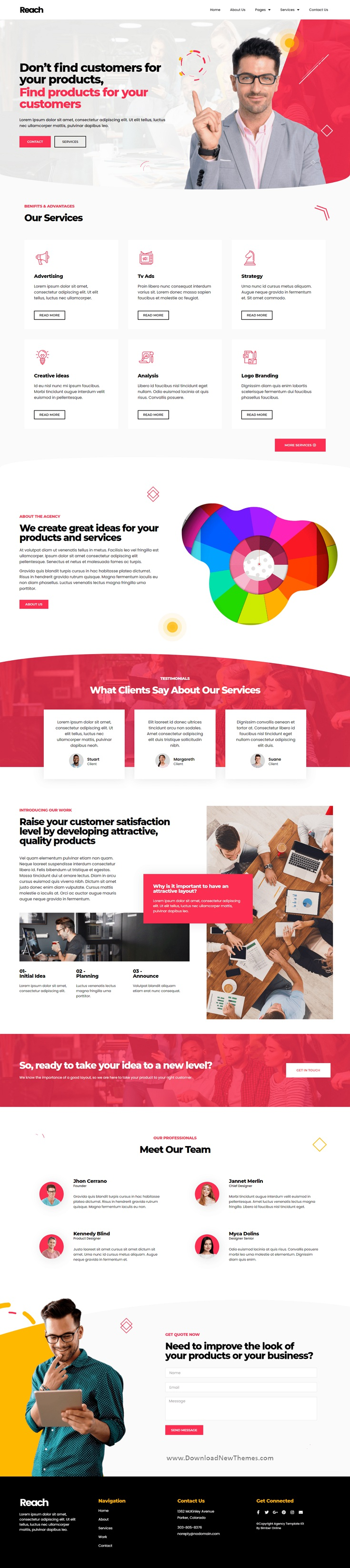 Digital Agency and Creative Elementor Template Kit