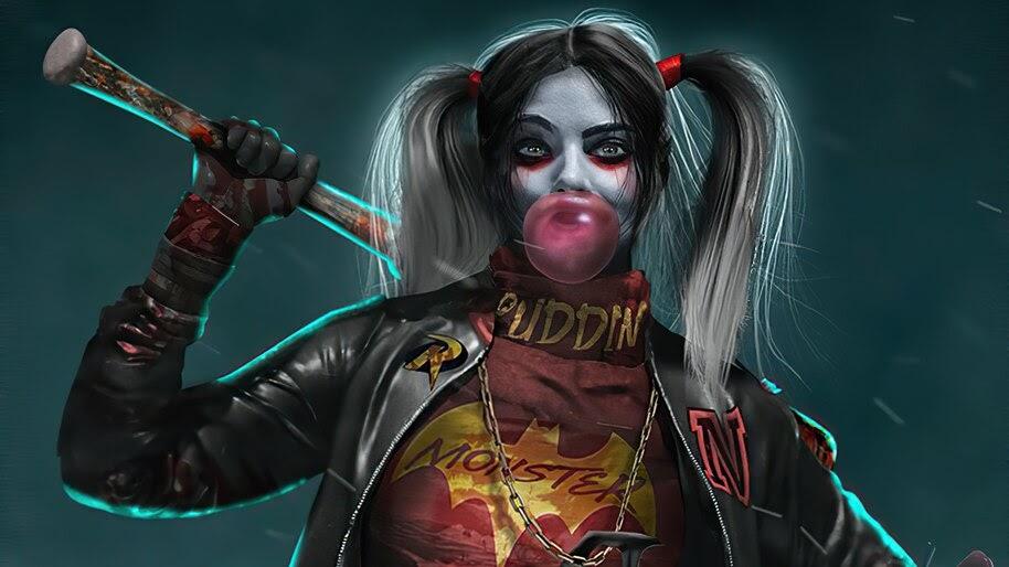 Harley Quinn, DC, Comics, 4K, #6.2087