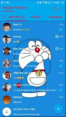 Tema doraemon Whatsapp