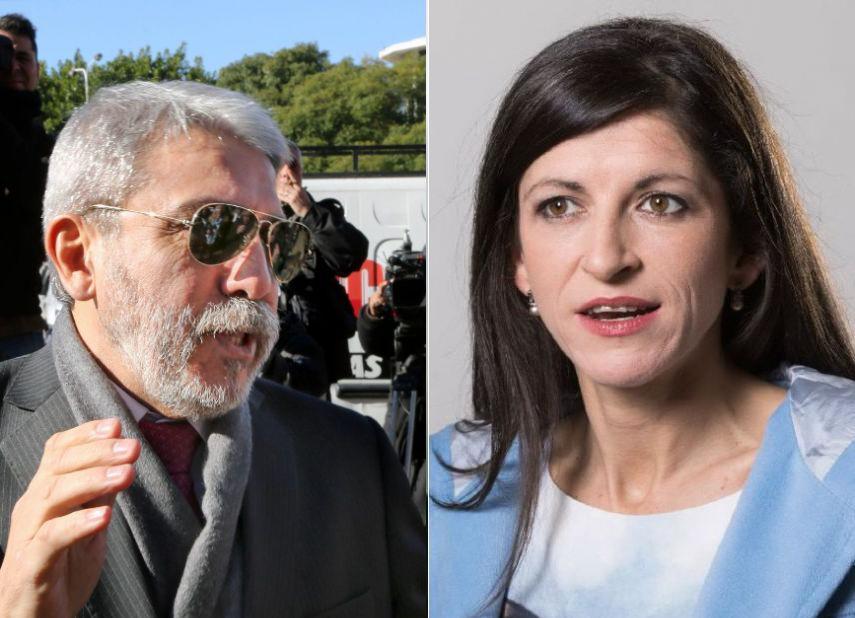 """Aníbal Fernández le apuntó a Fernanda Vallejos por su audio contra el Presidente: """"Eso no se hace señora"""""""