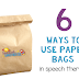 6 Ways to use Paper Bags in Speech and Language Therapy