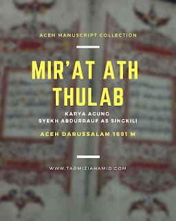 Berkaca Pada Mir'at al-Thullab