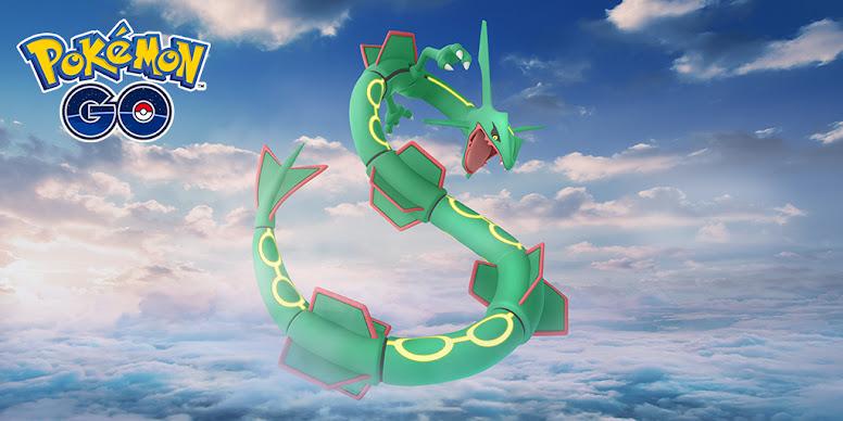 Rayquaza Pokémon GO