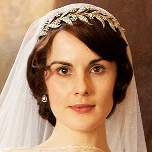 Diamond tiara worn by Lady May on her marriage to Matthew Crawley in Downton Abbey