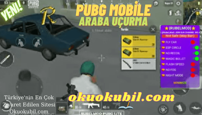 Pubg Mobile LİTE MOD APK 2.0 Araba Uçurma, Sekmeme, ESP Virtualsiz