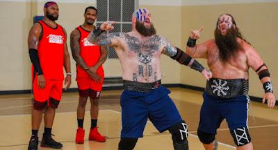 Street Profits Tag Team Raw Championship Viking Raiders