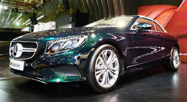 Mercedes S500 Cabriolet 2018 sở hữu thiết kế thể thao, sang trọng và quyến rũ
