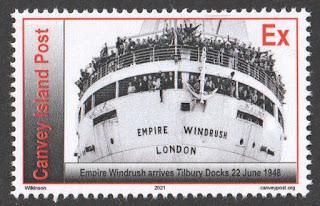 CILP Empire Windrush stamp