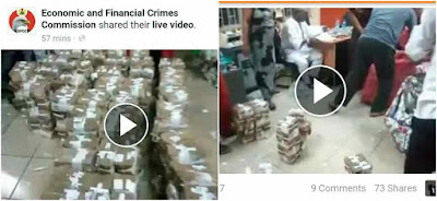 EFCC discovers over N400m in an abandoned bureau de change in Lagos