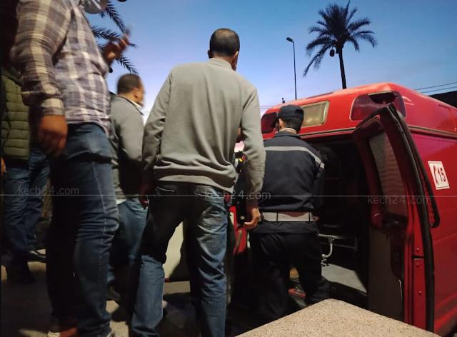 """إصابة ثلاث عناصر أمنية خلال عملية إعتقال """"بزناس"""" بمراكش +صور"""