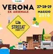 Streeat - Food Truck Festival 27 - 28 - 29 Maggio Verona 2016