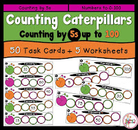 Counting Caterpillars by 5