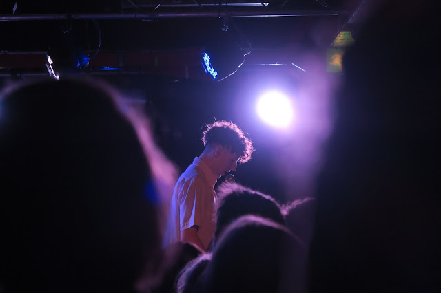 Marsicans playing live at Sound Control, Manchester