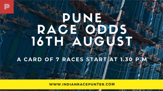 Pune Race Odds 16 August