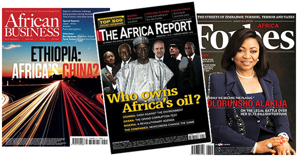African business and tech magazines