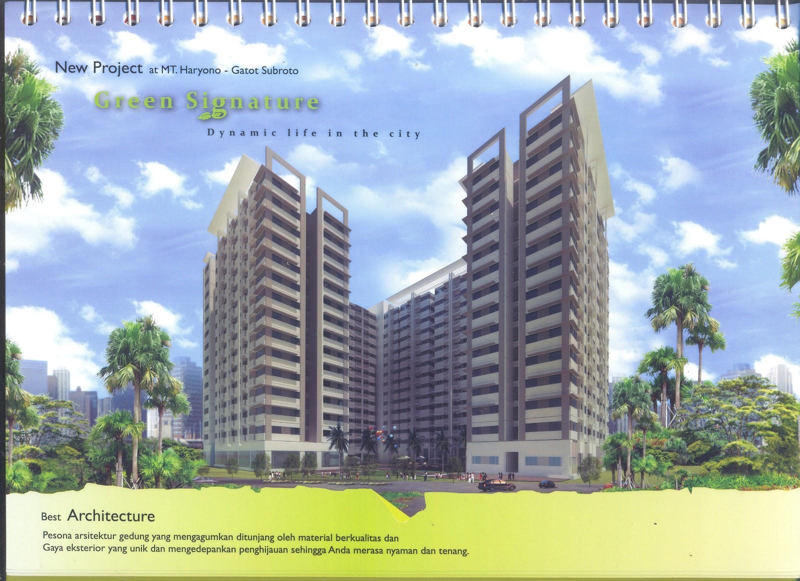 Apartemen Green Signature Jl Mt Haryono Kav 20 Jakarta