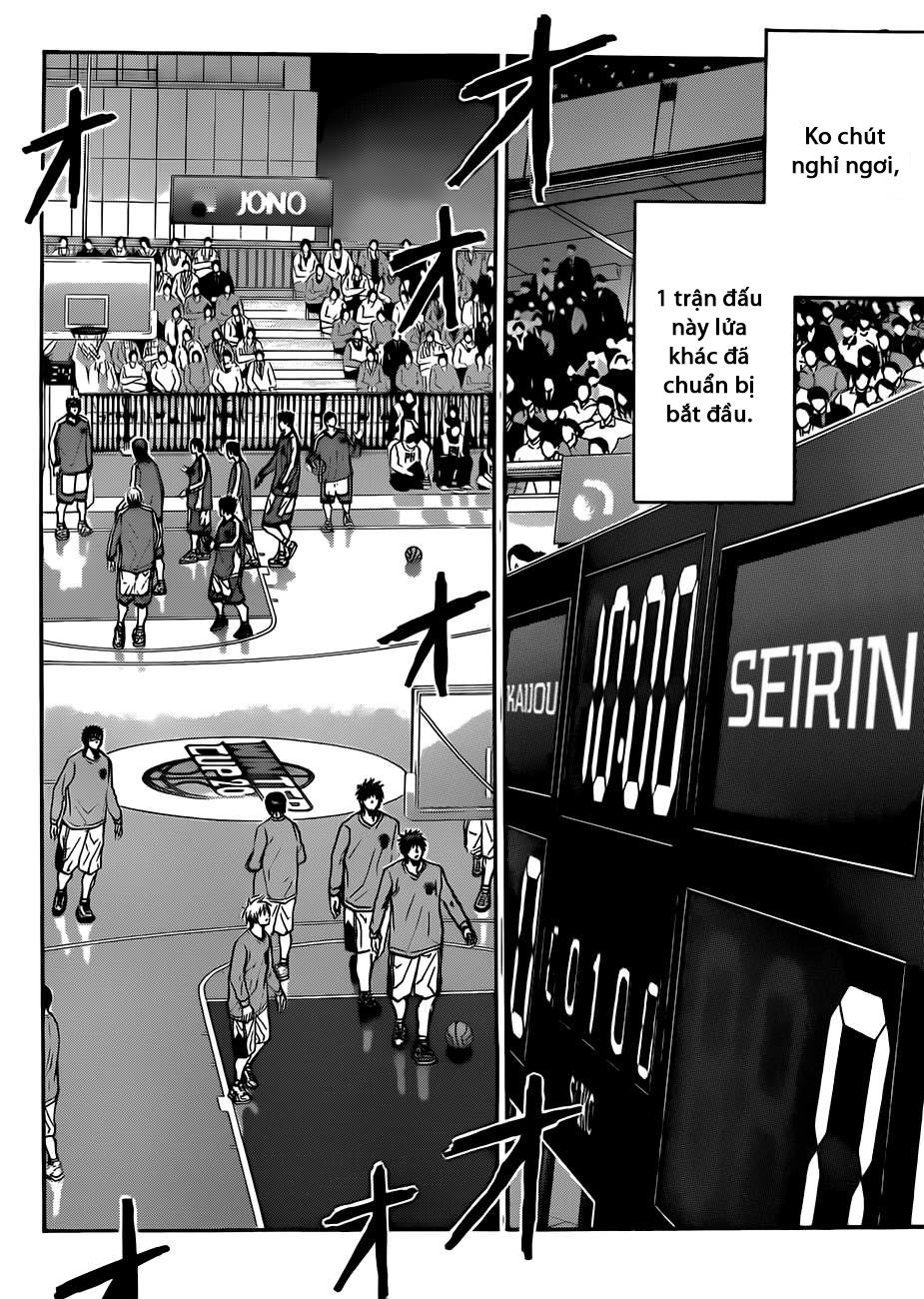 Kuroko No Basket chap 183 trang 12