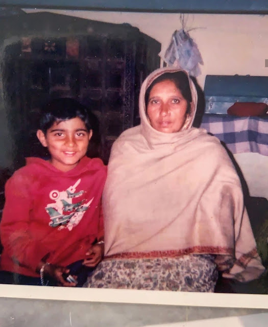 Karan Aujla Childhood