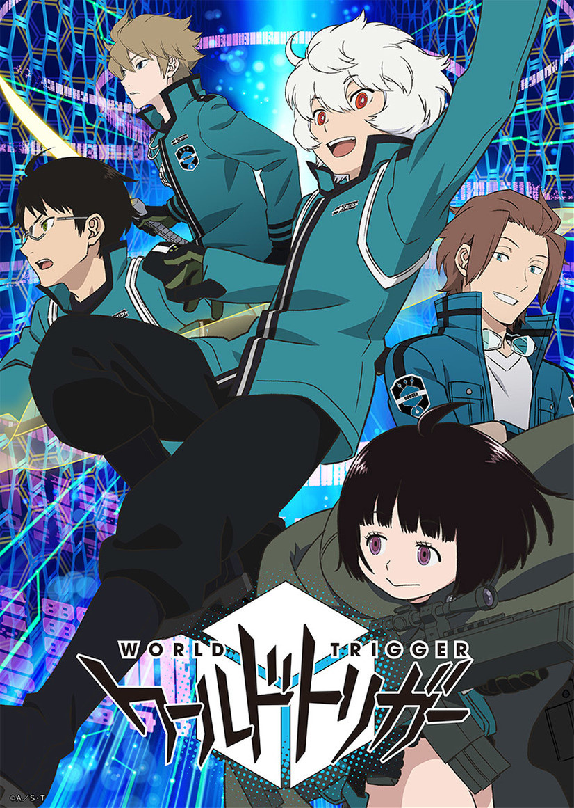 World Trigger , ワールドトリガー, Action, Sci-Fi, Supernatural, School, Shounen , Anime , HD , 2014
