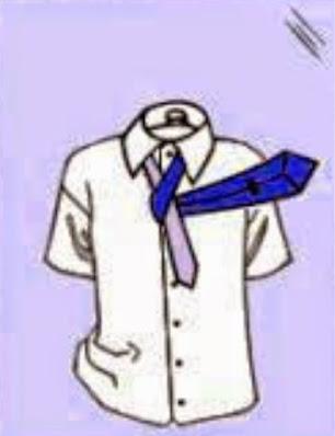 3. Tutorial Cara Memasang Dasi SMP yang Mudah dan Rapi