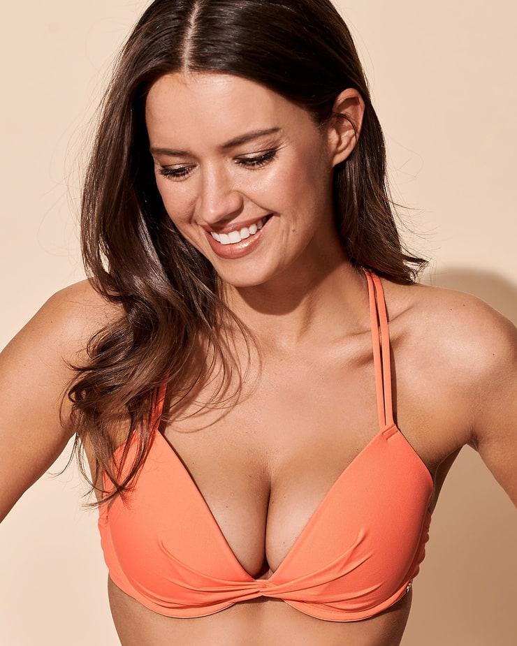 Michea Crawford Exclusive Hot Photoshoot in Orange Bikini