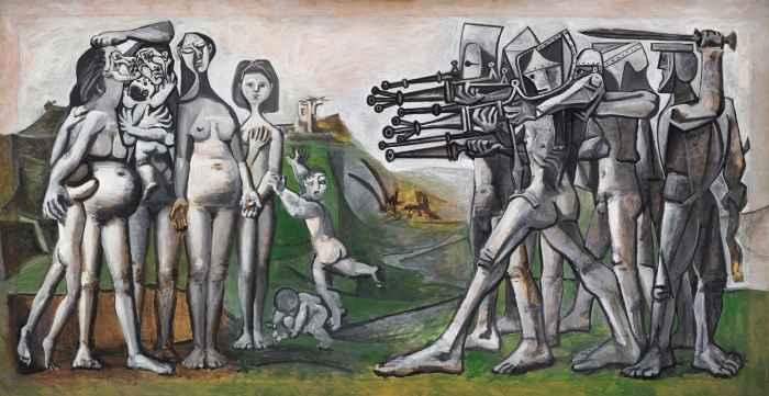 Пикассо Величайший художник войны 3
