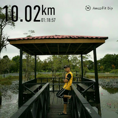 Jangan malu untuk berlari! Lama tak lari sejauh 10 km