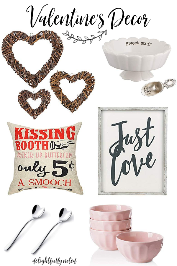 Valentines Decor: Amazon Finds