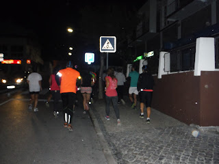 Running by night - Porto de mós