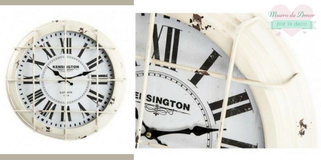 Cosas Bonitas: Reloj estilo industrial