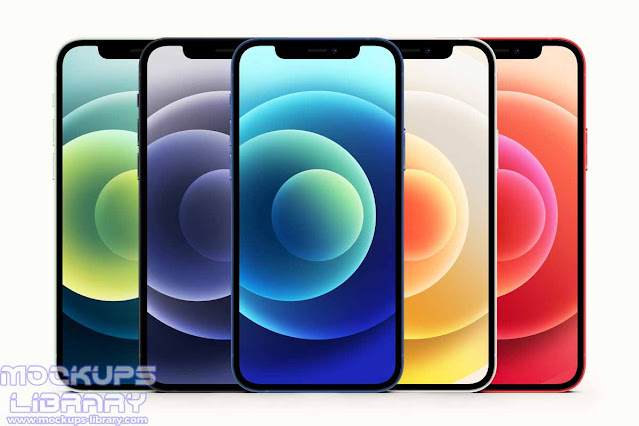 iphone 12 mockup psd