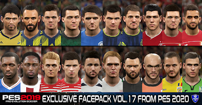 PES 2019 Exclusive Facepack Vol. 17 by Sofyan Andri