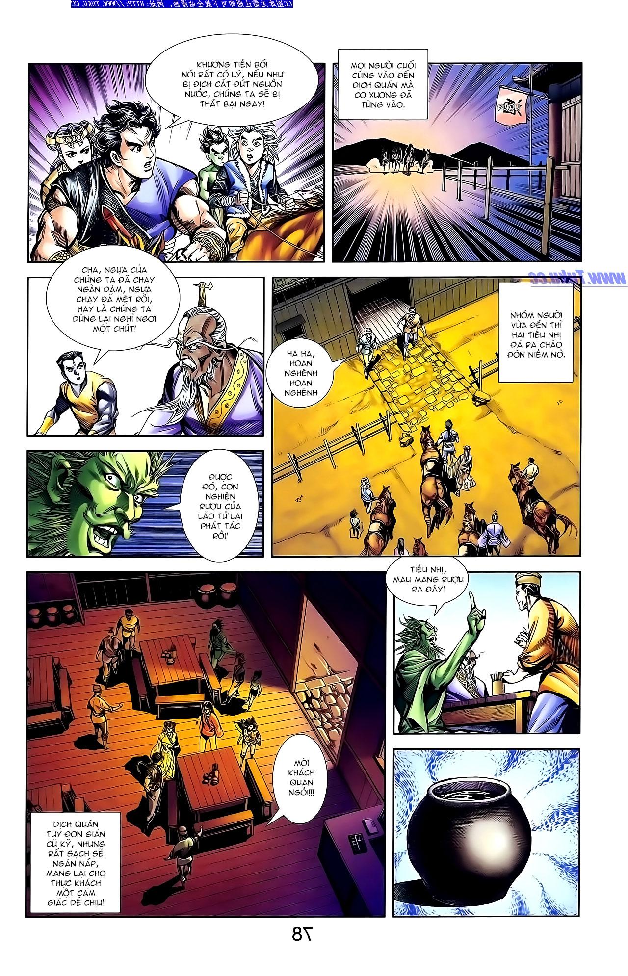Cơ Phát Khai Chu Bản chapter 141 trang 22