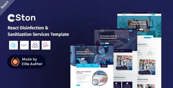 Best React Cleaning Services Template