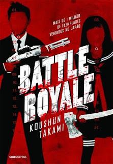 Capa do livro Battle Royale. Editora Globo Livros.
