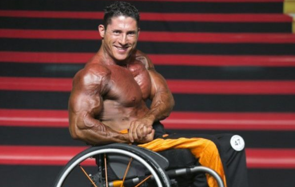 Johnny Quinn Binaragawan Dunia yang Hidup di Kursi Roda