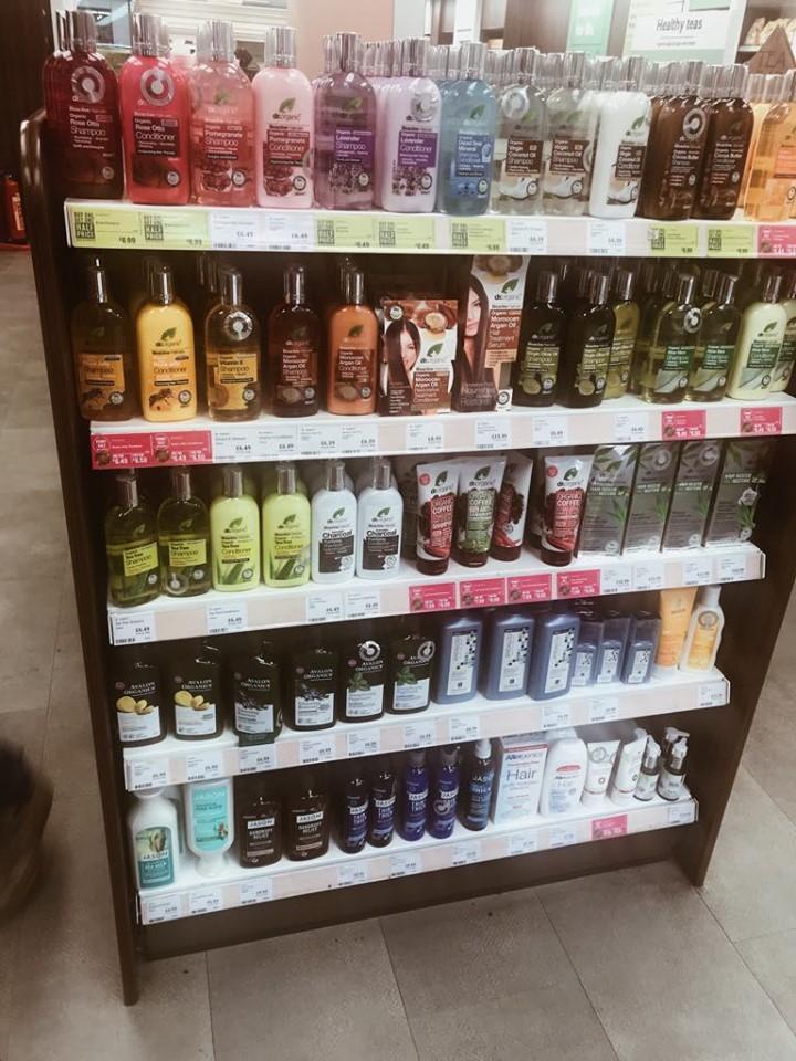 Kosmetyki z dobrymi składami w Londynie - przegląd sklepów