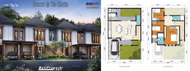 layout l8 avezza the mozia bsd city