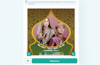 cara membuat twibbon tahun baru islam dengan twibbonizecom 3- kanalmu