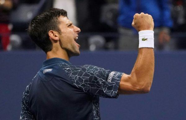 Novak Djokovic: dominates John Isner at ATP Finals in London