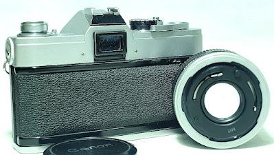 Canon FTb QL (Chrome) Body #898, Canon FD 50mm 1:1.8 SC #674