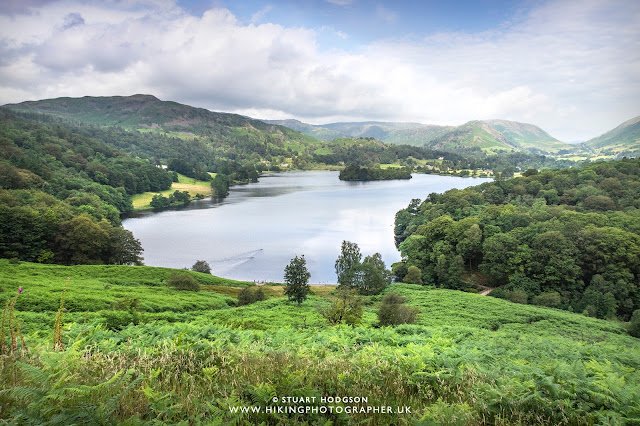 Grasmere lake walk circular map route lake District best wordsworth