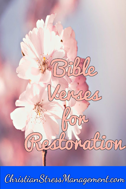 Bible verses for restoration