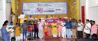 गीताजंलि के स्वर्ण जयंती वर्ष के पदाधिकारियों का शपथ ग्रहण समारोह सम्पन्न    #NayaSaberaNetwork