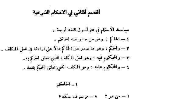 Hukum Syariat dalam Ushul Fiqih