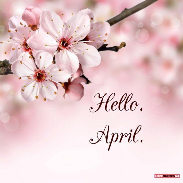 Appreciate April