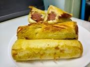 Resepi Roti Sosej Gulung Cheese Leleh Air Fryer