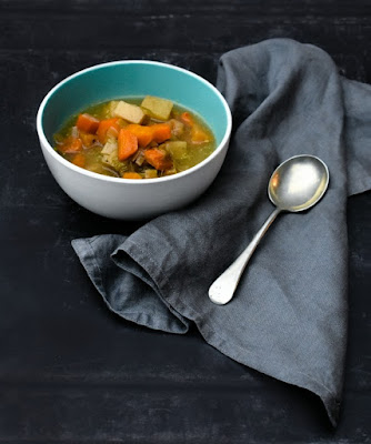 Scottish Slow Cooker Vegetable Soup